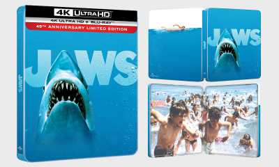 'Jaws' 45th Anniversary Limited Edition Steelbook 4K Ultra HD Blu-Ray Coming to the UK This June