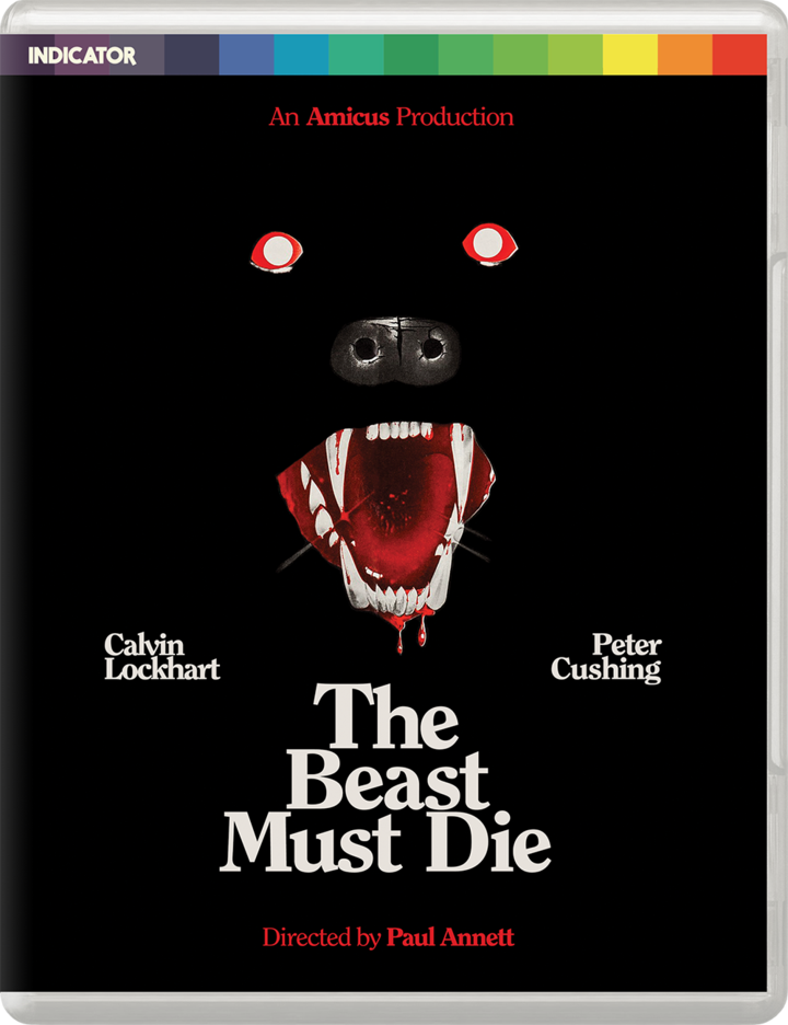 The Beast Must Die Limited Edition UK Blu-Ray