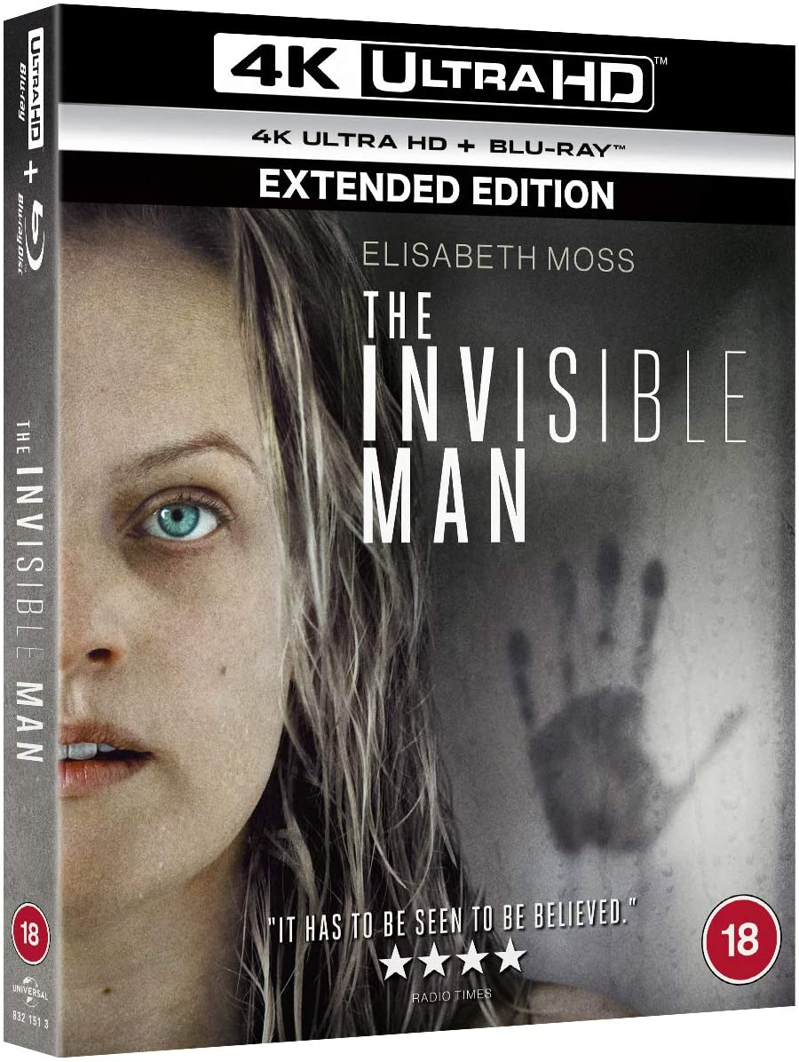 The Invisible Man 4K UK Blu-Ray