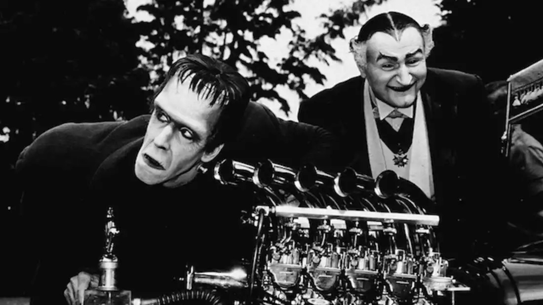 The Munsters Herman and Grandpa