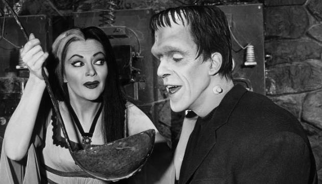 The Munsters Lily and Herman