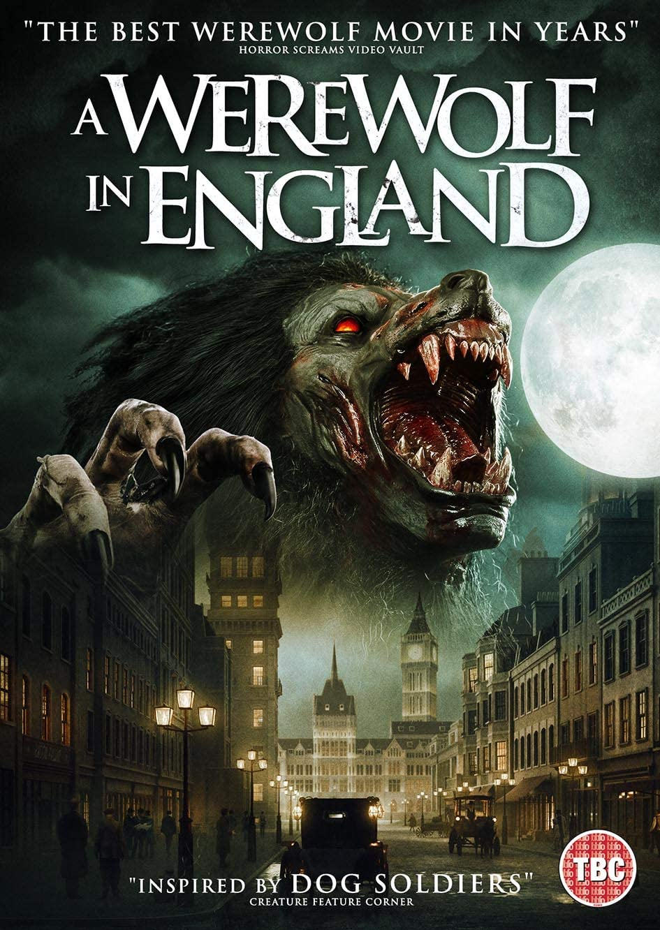 A Werewolf In England UK DVD