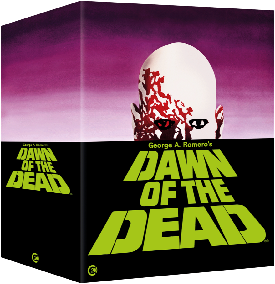 Dawn of the Dead Limited Edition 4K Box Set UK Blu-Ray