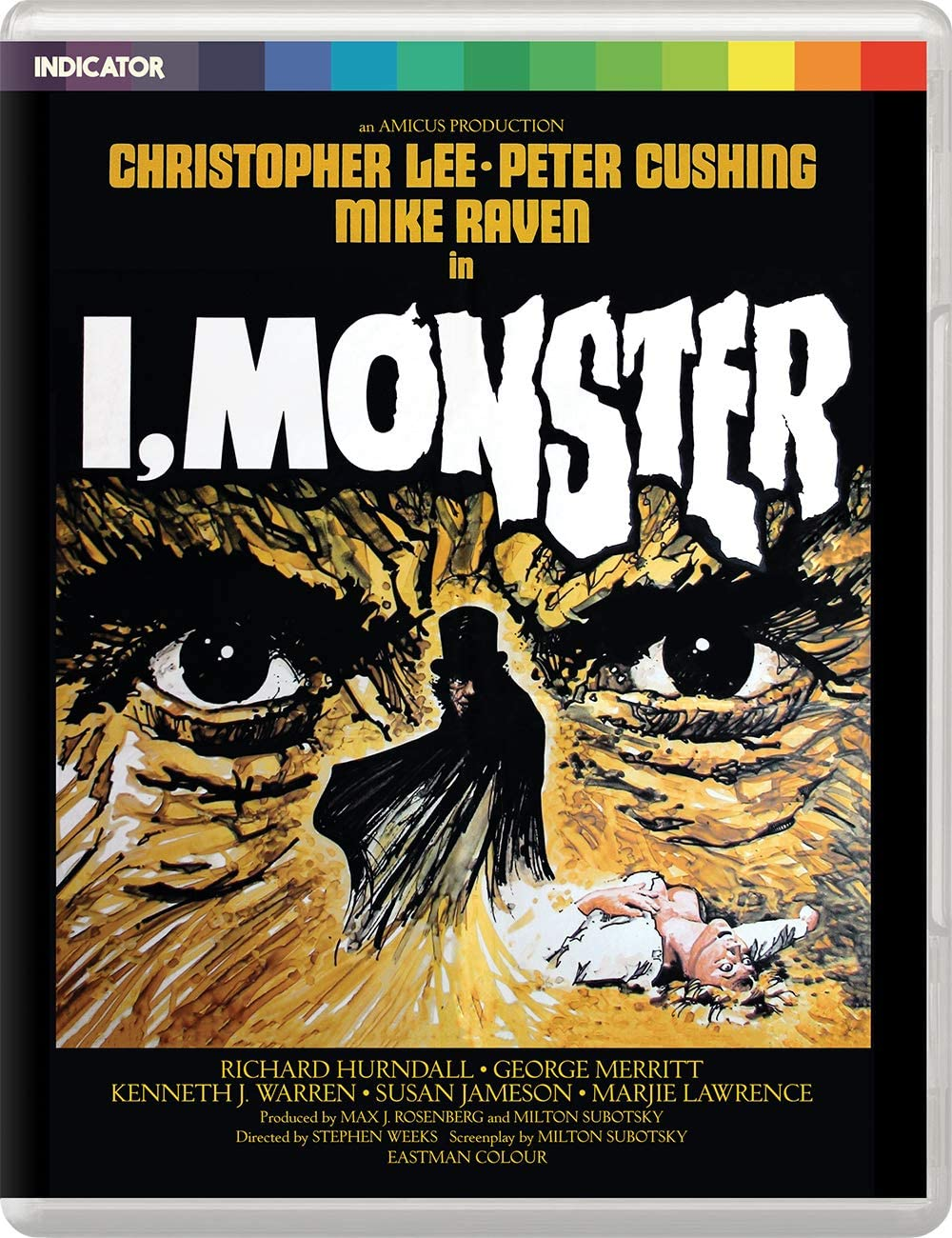 I, Monster UK Blu-Ray
