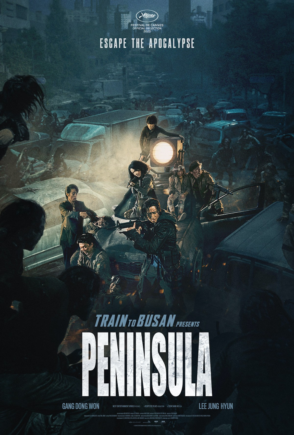 Train to Busan Presents Peninsula Poster 1