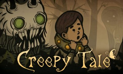 Spooky Puzzle-Adventure Game 'Creepy Tale' Launches on the Nintendo Switch Next Friday