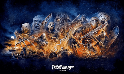 Scream Factory Details Bonus Features for 16-Disc 'Friday The 13th' Blu-Ray Collection