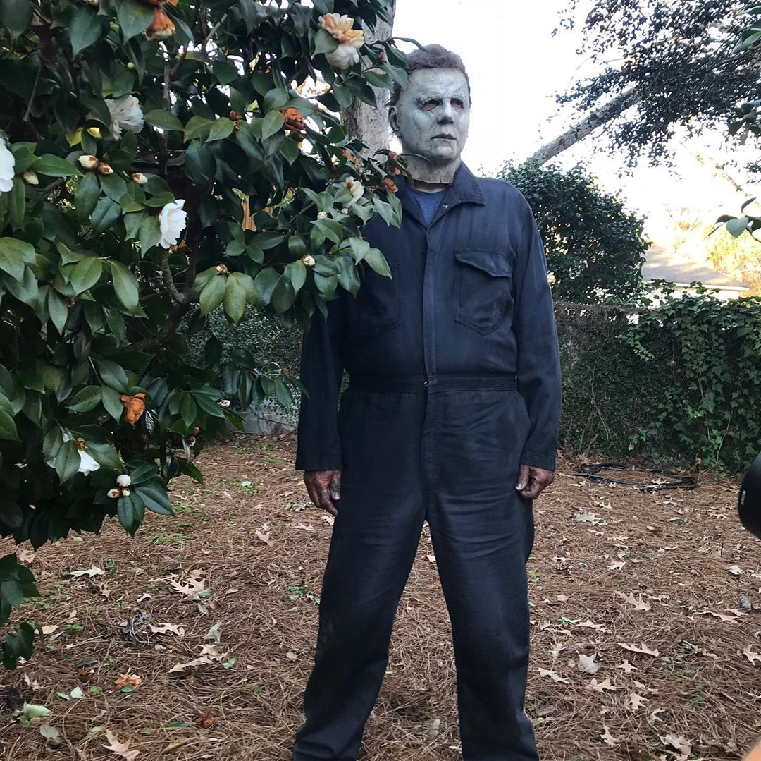 Nick Castle Michael Myers Bush Halloween 2018