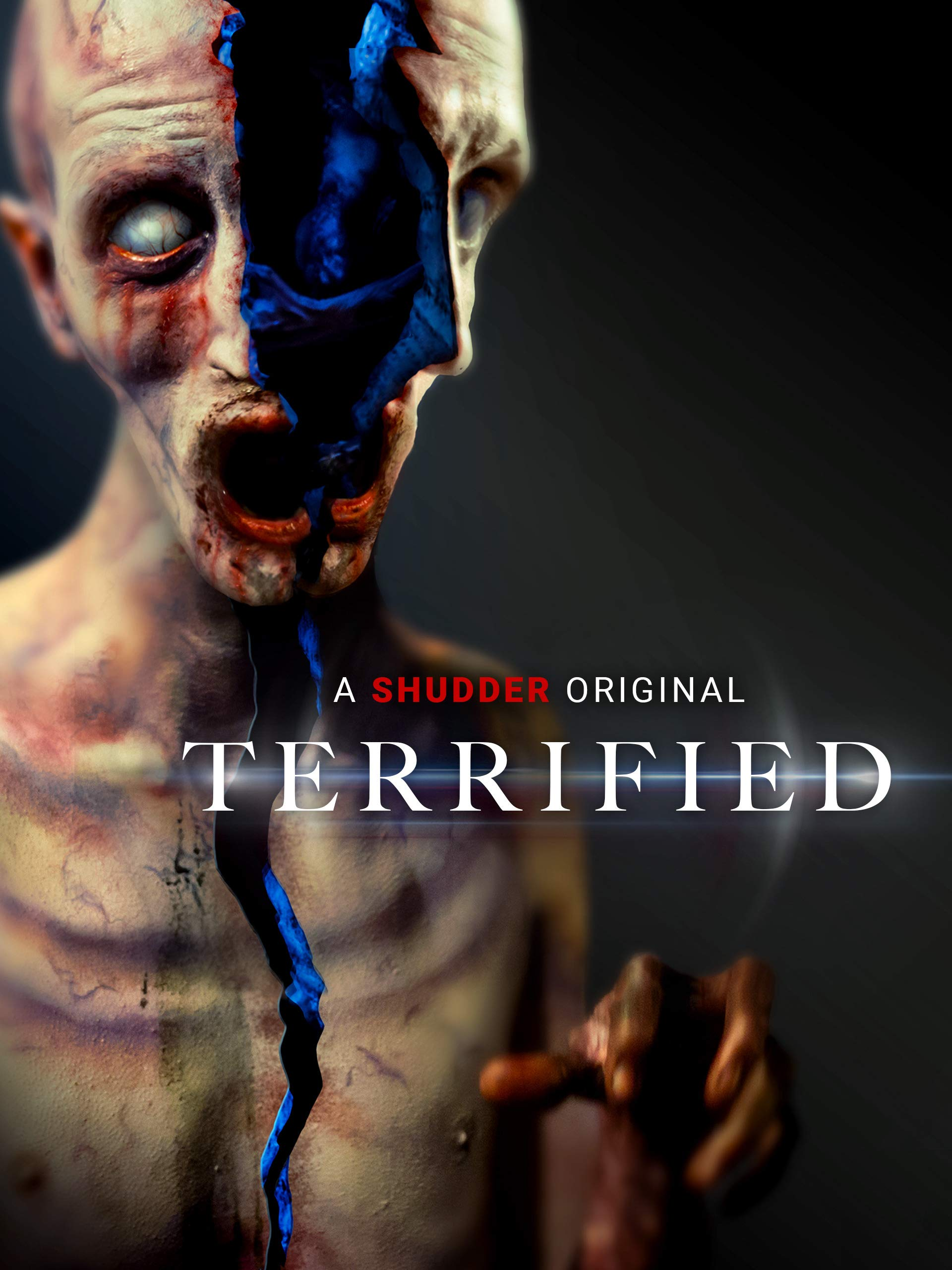 Shudder Terrified Poster