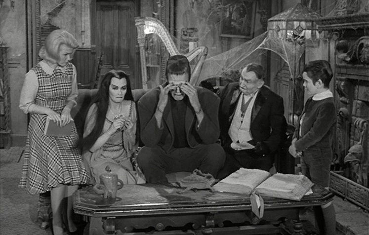 The Munsters Herman the Rookie 1