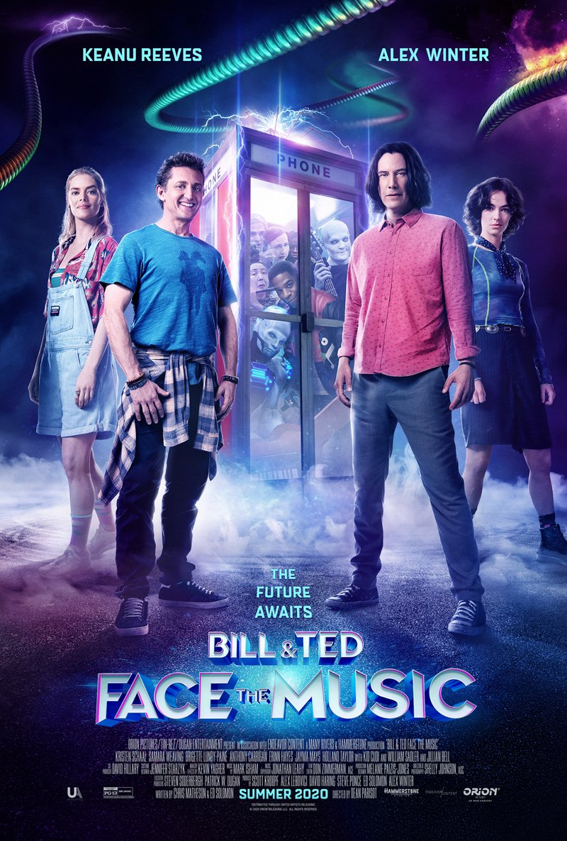 Bill and Ted Face the Music Cast Poster