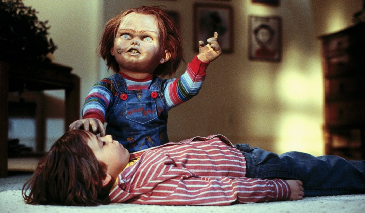 Child's Play 1988 Andy on Floor