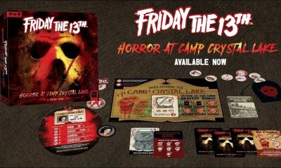 "'Friday the 13th' Board Geme ""Horror at Camp Crystal Lake"" Available Now for Purchase!"