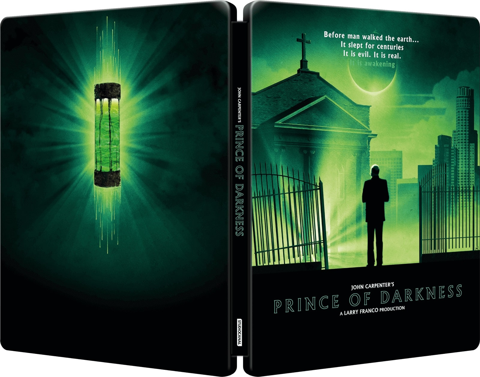 Prince Of Darkness UK Steelbook Blu-Ray