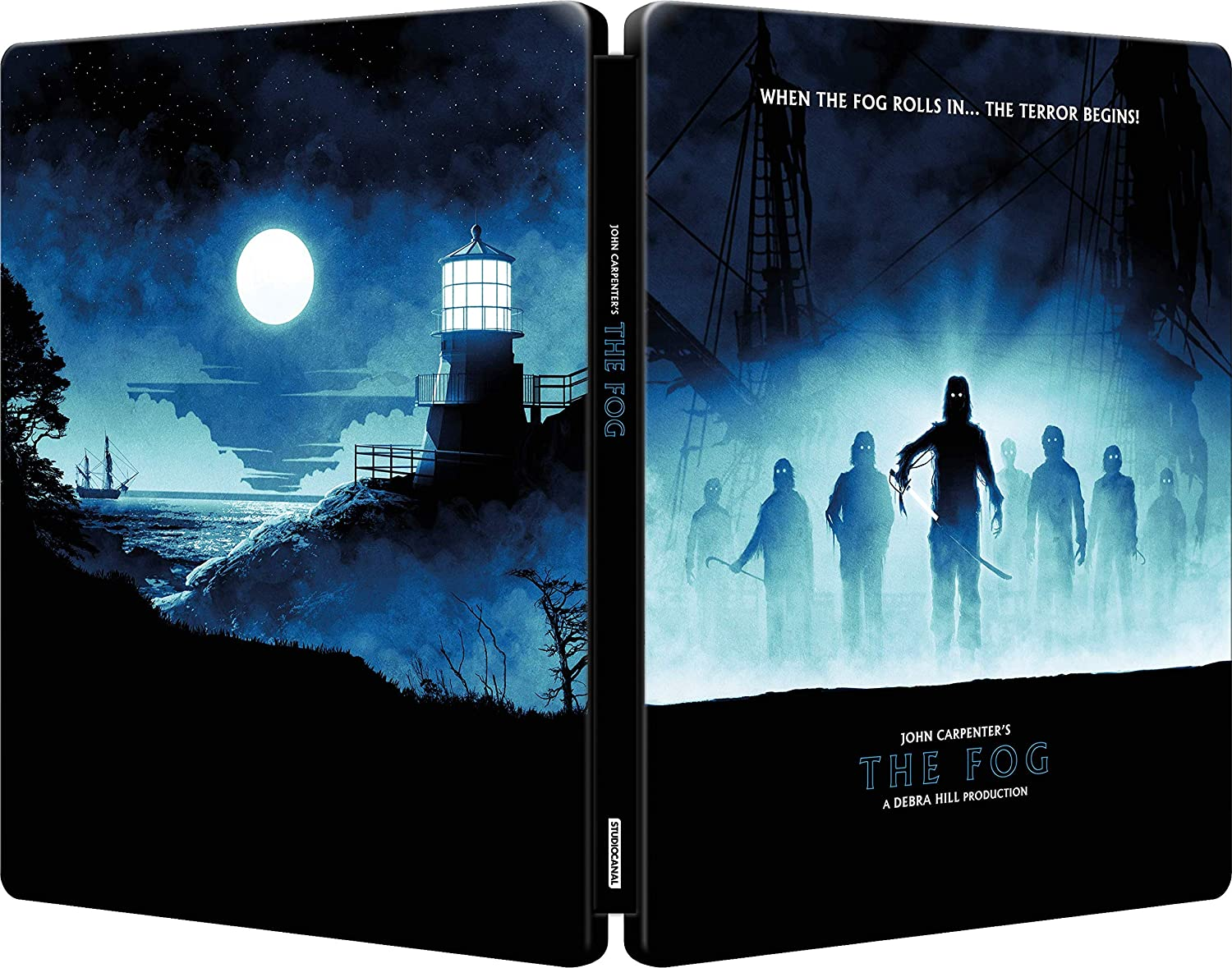 The Fog UK Steelbook Blu-Ray