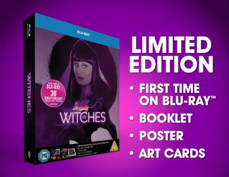 The Witches UK Blu-Ray Details