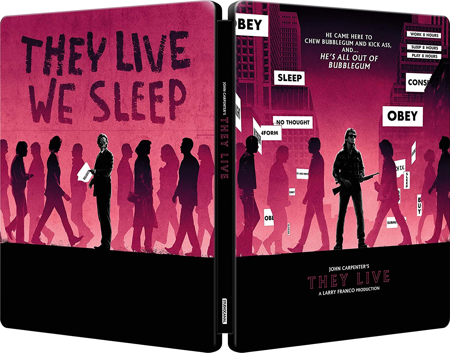 They Live UK Steelbook Blu-Ray