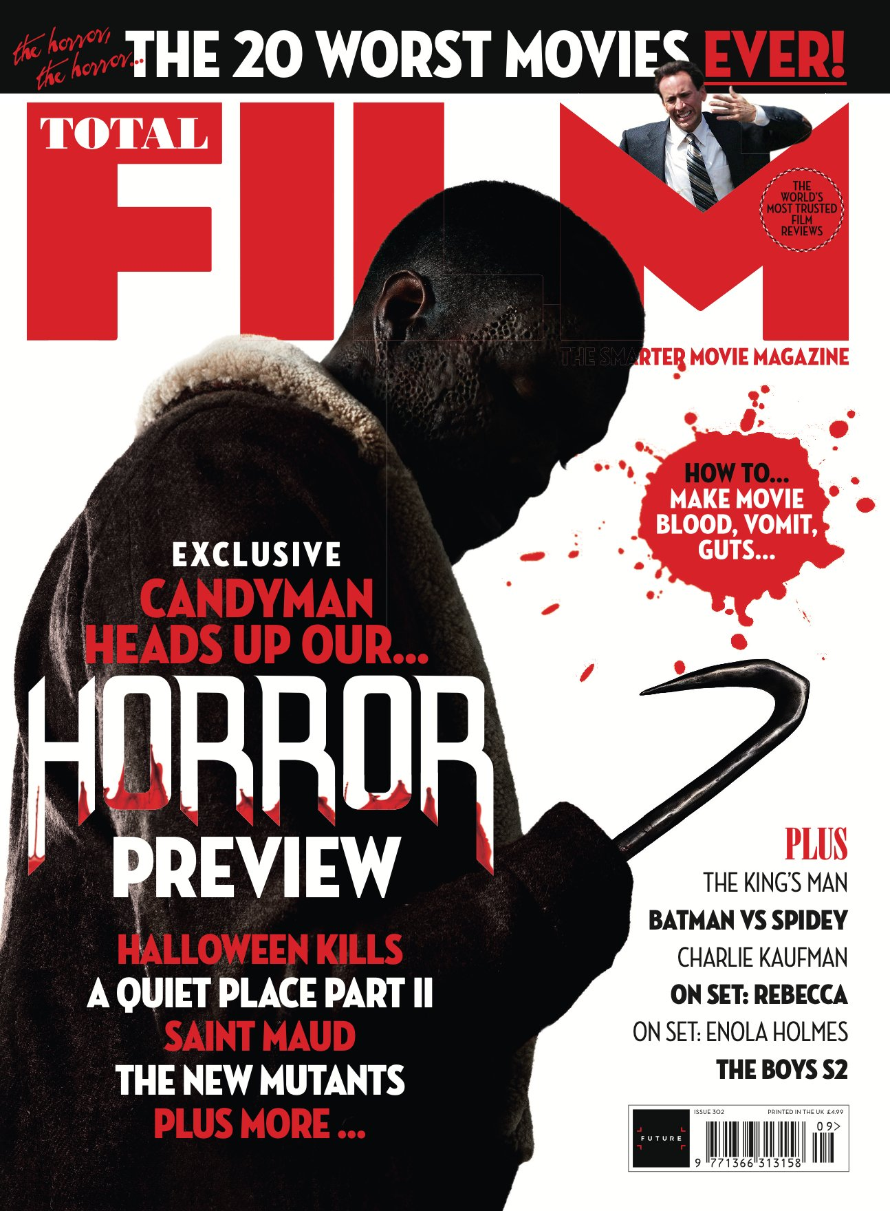 Total Film Candyman 2020 Cover