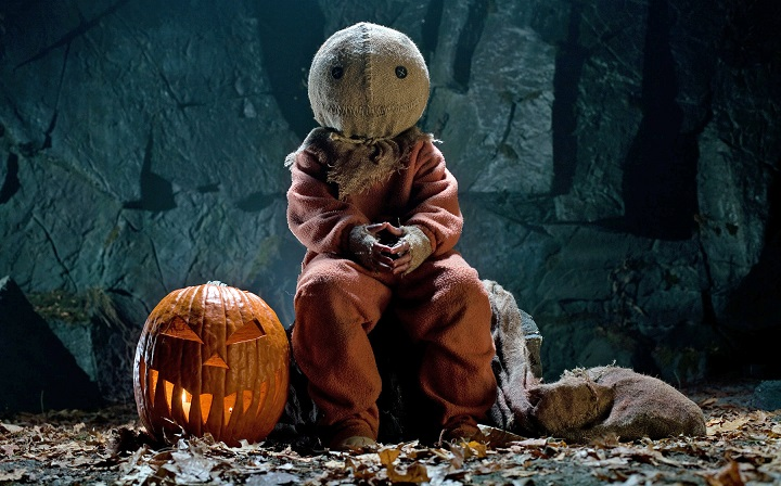 Trick 'r Treat Sam with Pumpkin