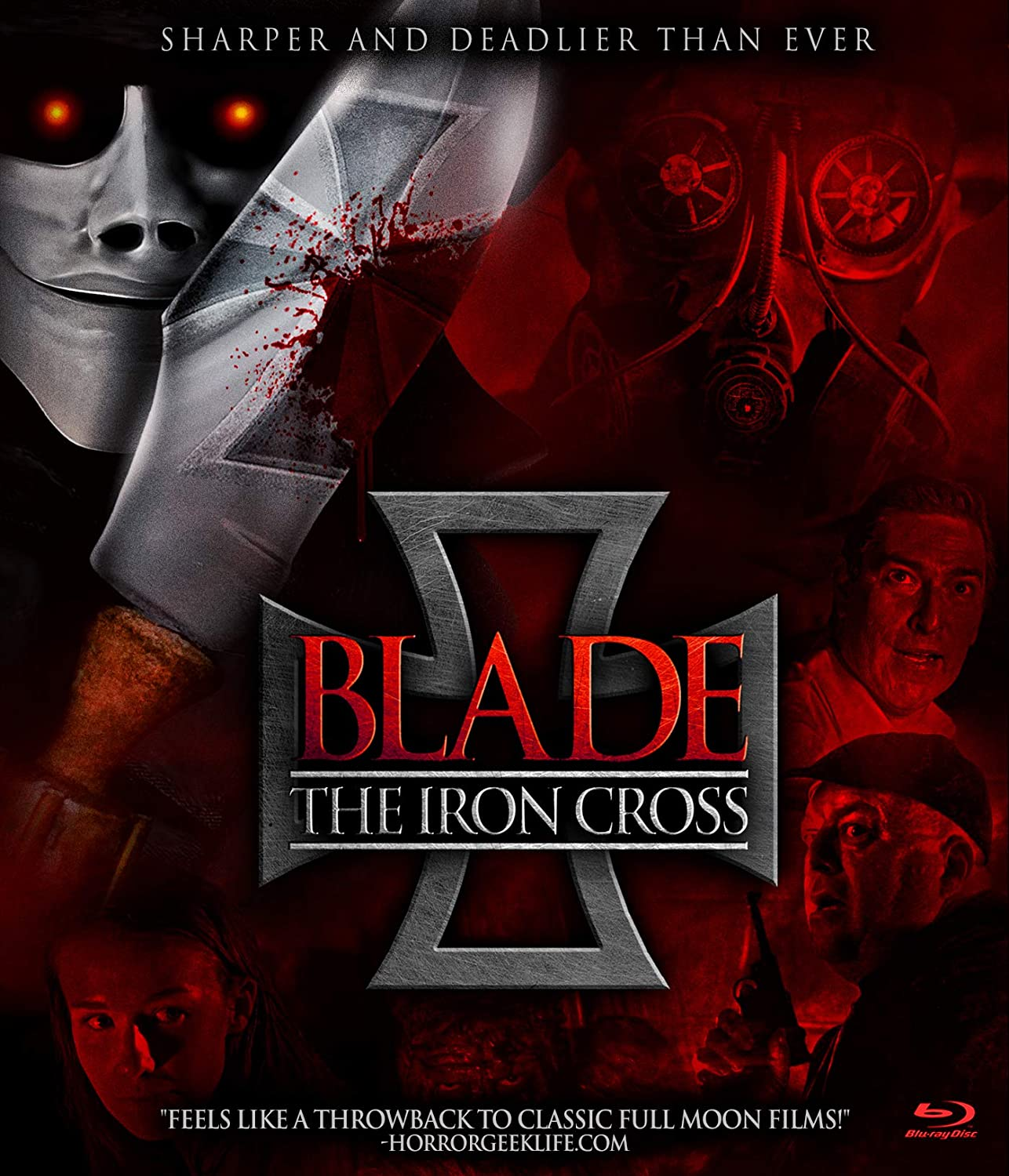 Blade: The Iron Cross U.S. Blu-Ray