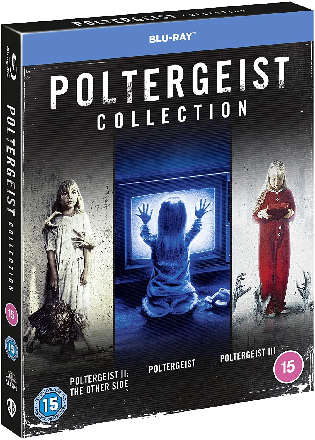 Poltergeist Trilogy UK Blu-Ray