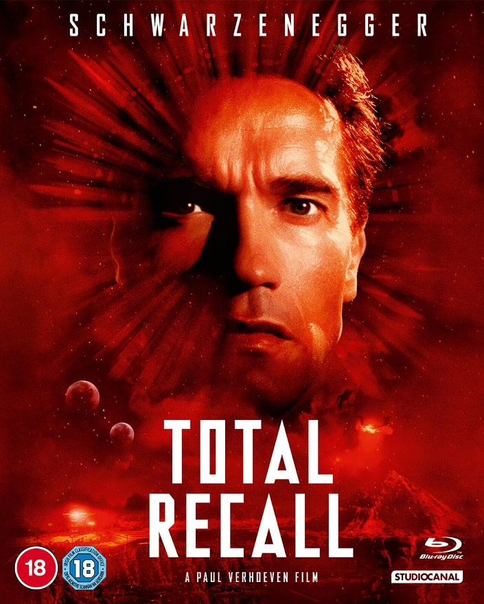 Total Recall UK Blu-Ray Cover