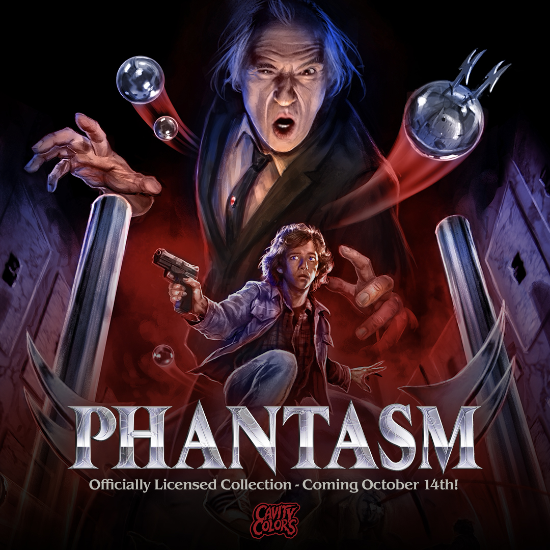 Phantasm Collection Cavity Colors Artwork