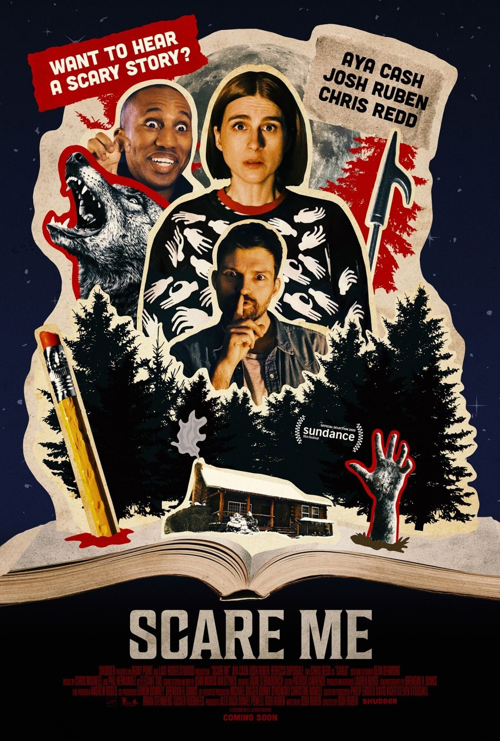 Scare Me 2020 Poster