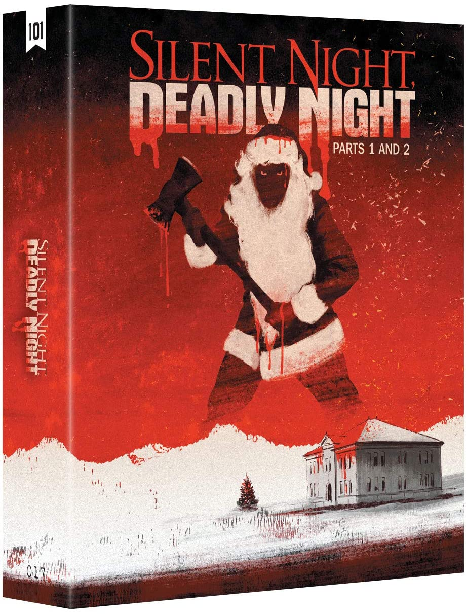 Silent Night Deadly Night 1 and 2 UK Blu-Ray Box Art