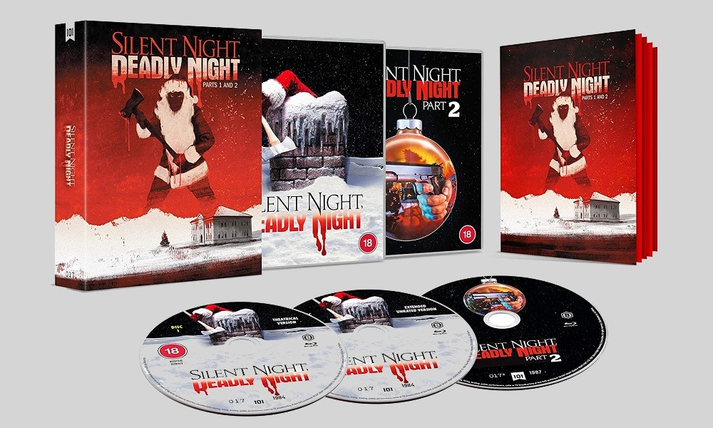 101 Films Releasing 'Silent Night, Deadly Night' 1 and 2 Limited Blu-Ray Set in the UK This November
