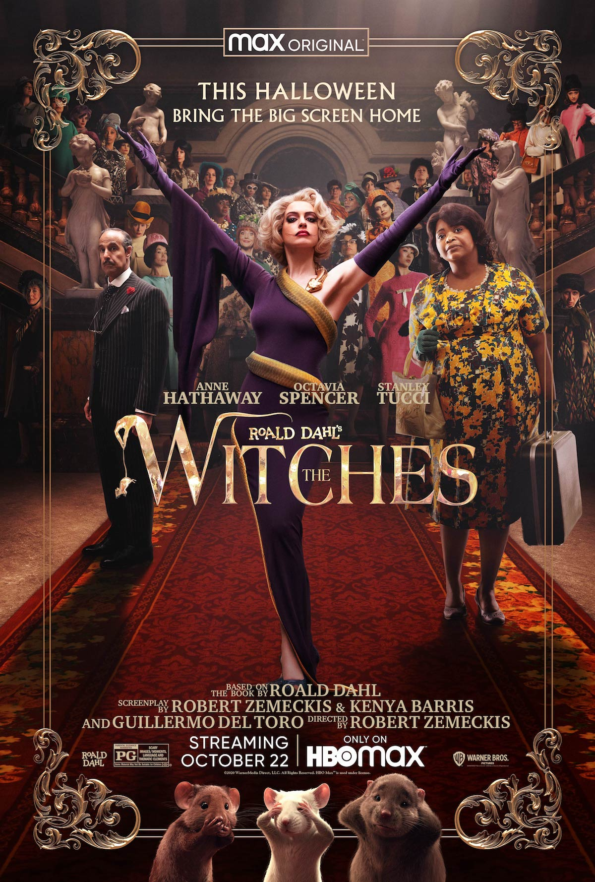 The Witches 2020 Poster Artwork