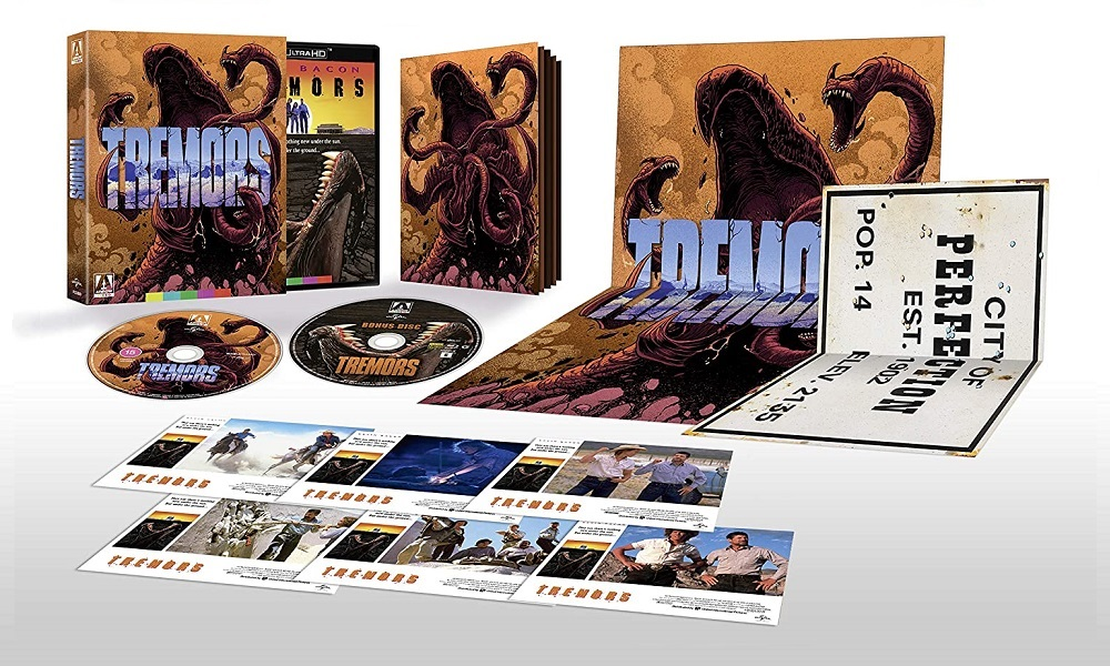 Arrow Video Releasing 'Tremors' on 4K Ultra HD Blu-Ray in the UK This December