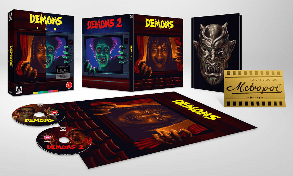 'Demons' and 'Demons 2' Getting Limited Edition 4K Ultra HD Blu-Rays in the UK from Arrow Video