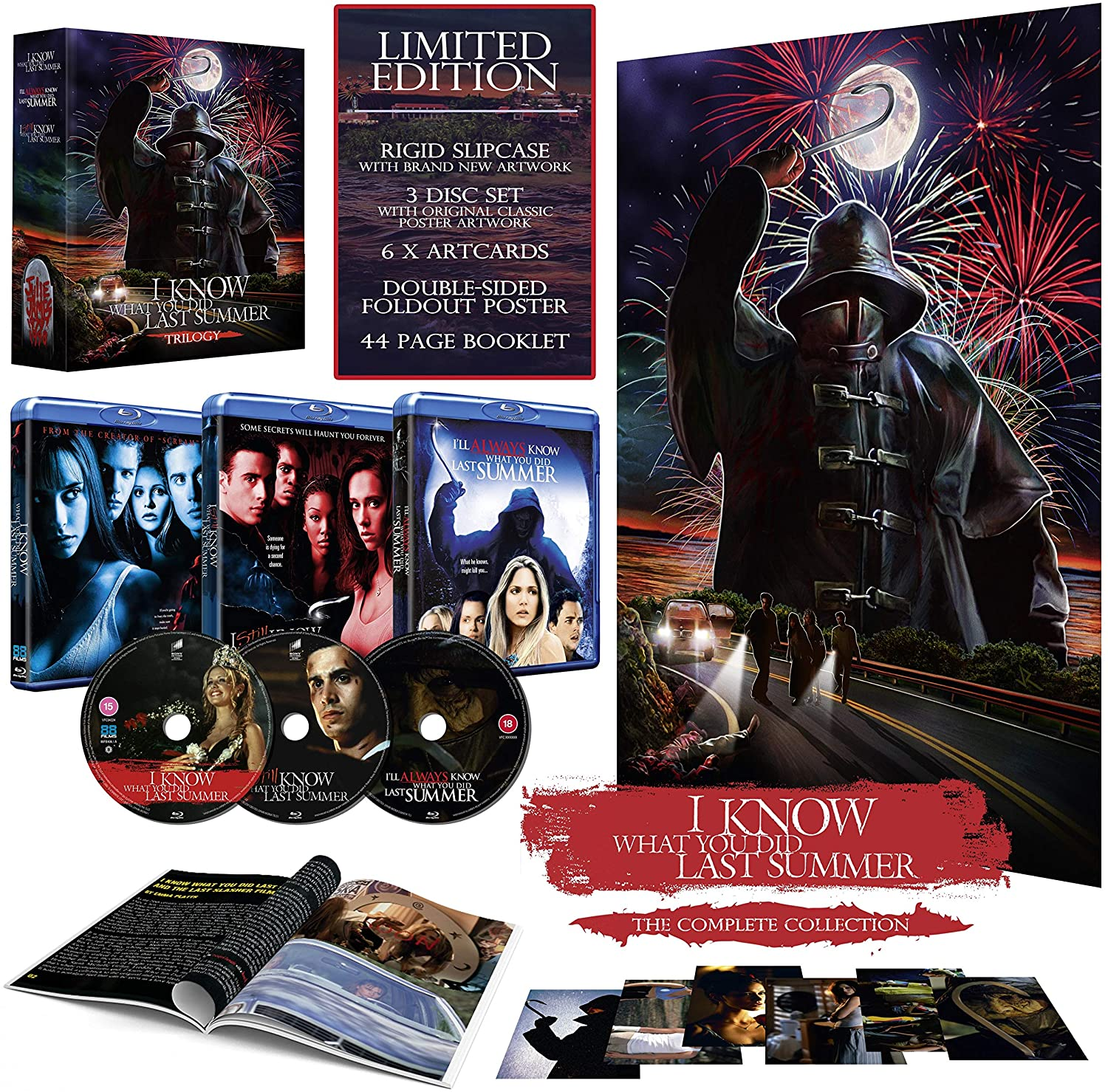 I Know What You Did Last Summer Trilogy Blu-Ray Box Set UK