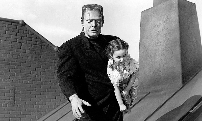 Lon Chaney Jr Frankenstein