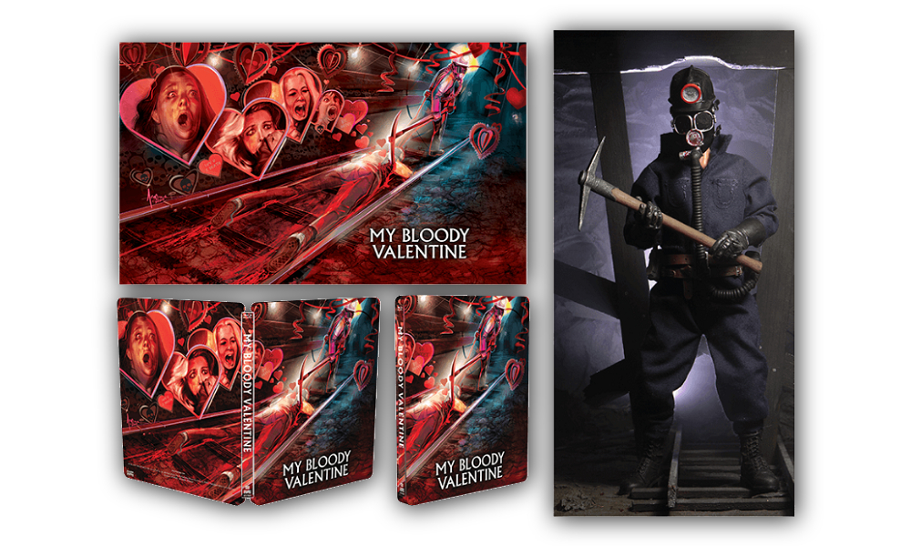 Scream Factory Releasing 'My Bloody Valentine' Deluxe Steelbook Blu-Ray With Exclusive Action Figure