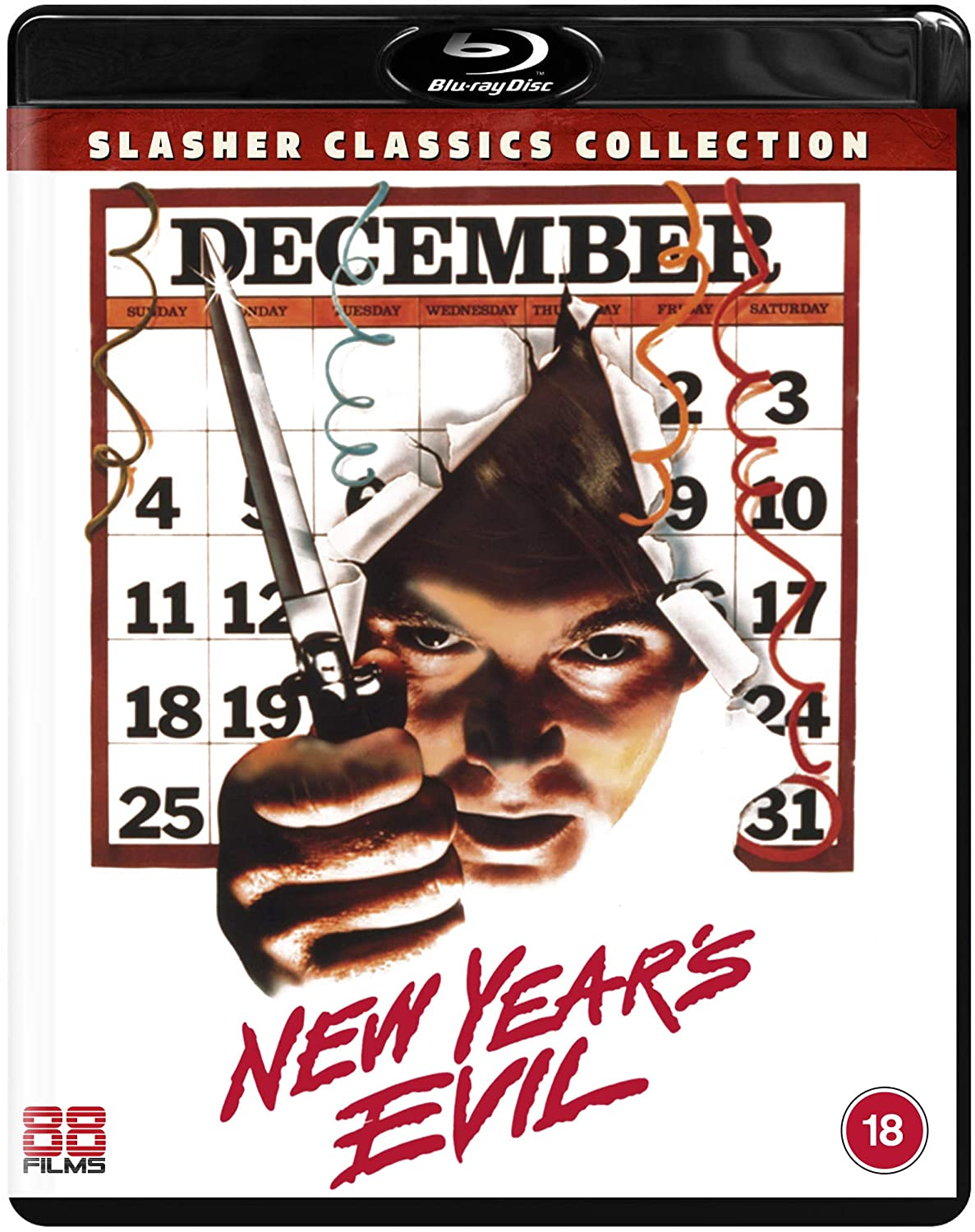 New Year's Evil UK Blu-Ray