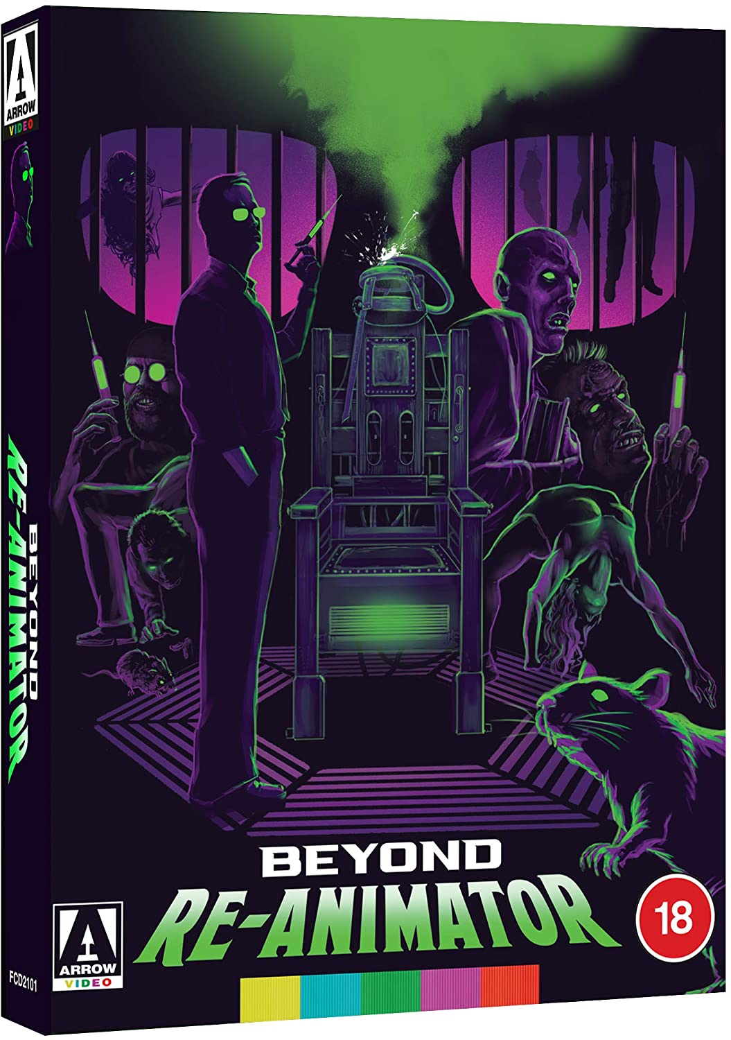Beyond Re-Animator Arrow Video UK Blu-Ray