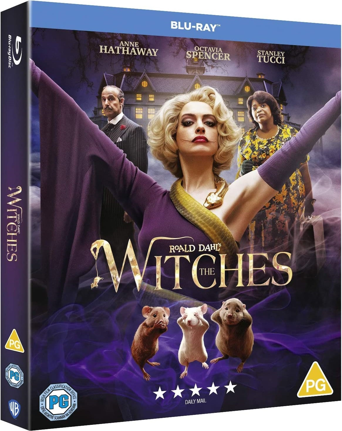 Roald Dahl's The Witches 2020 UK Blu-Ray