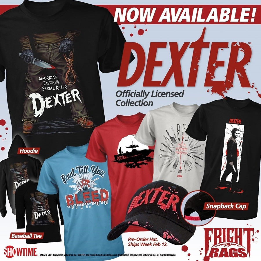 Dexter Fright Rags Collection