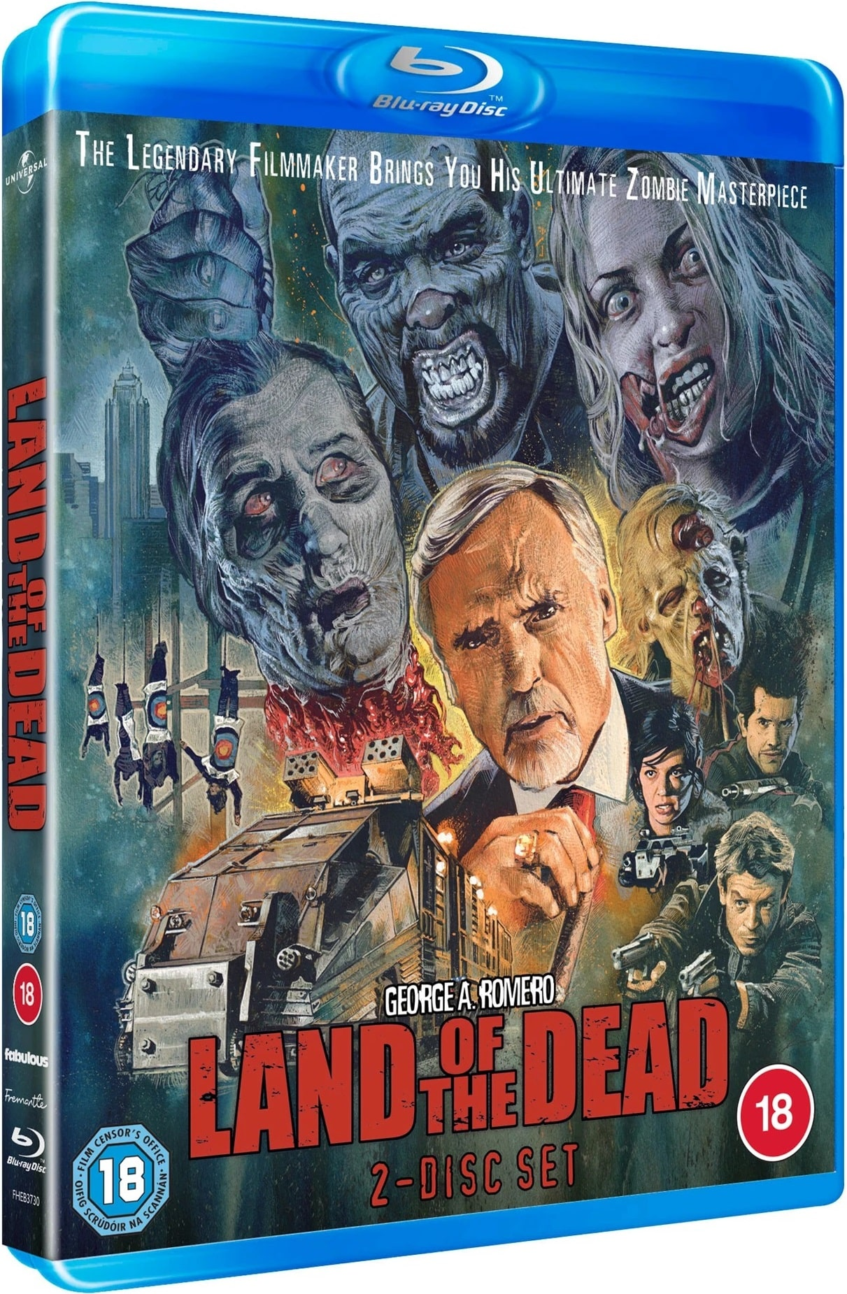 Land of the Dead UK Blu-Ray Front