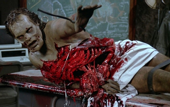 Goriest Zombie Movies - Day of the Dead 1985 Movie Still