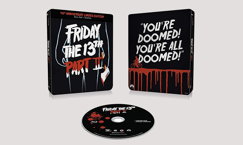 'Friday the 13th: Part II' Getting Limited Edition Steelbook Blu-Ray for the Film's 40th Anniversary