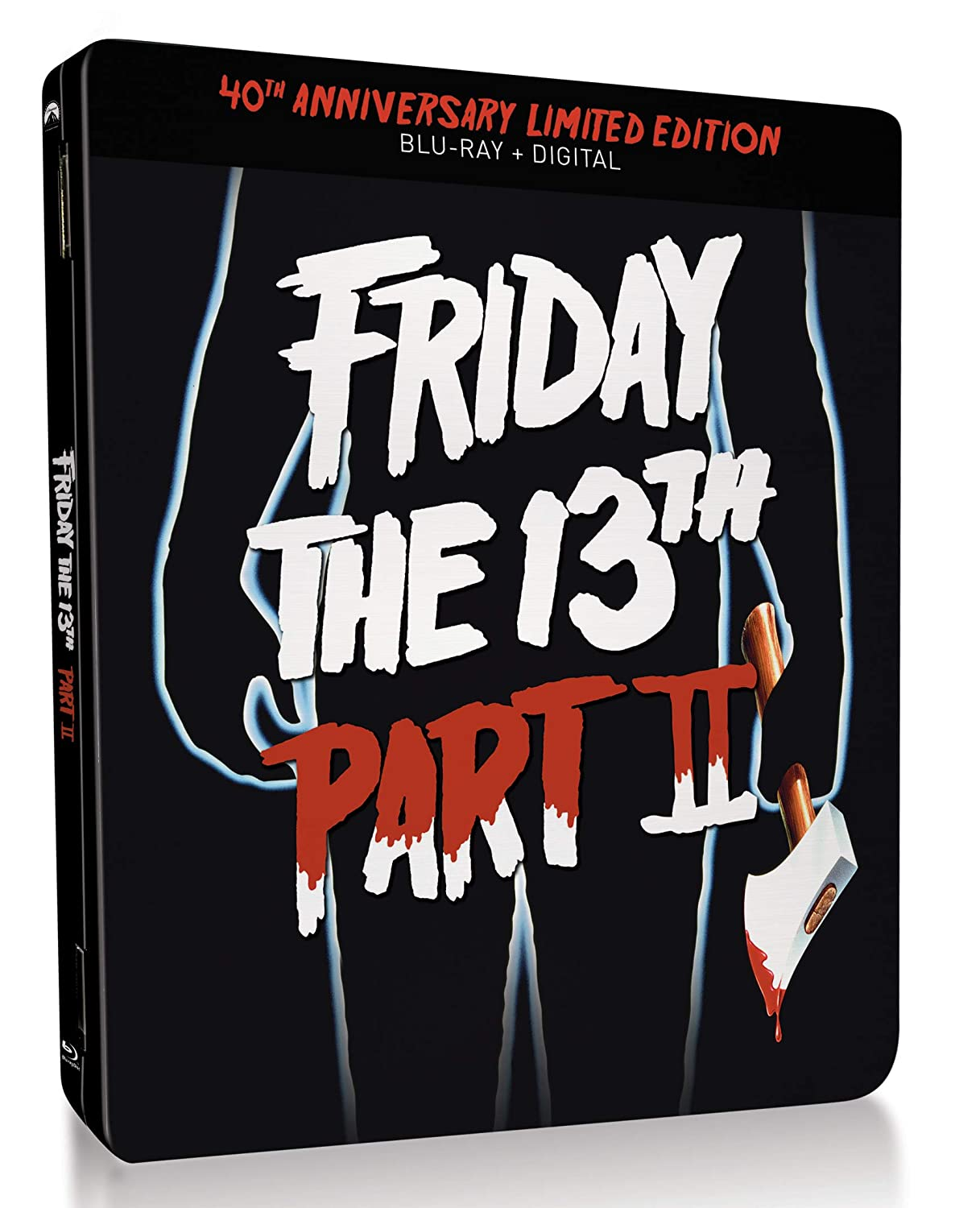Friday the 13th Part II Steelbook Blu-Ray Case