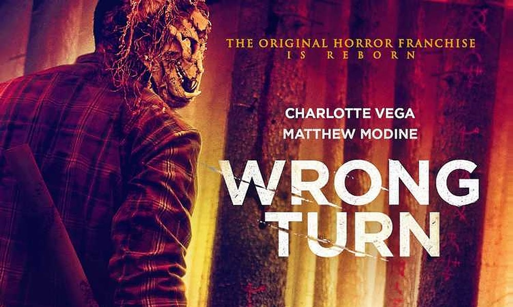'Wrong Turn': Axe-Wielding Maniac Graces the UK Poster Artwork