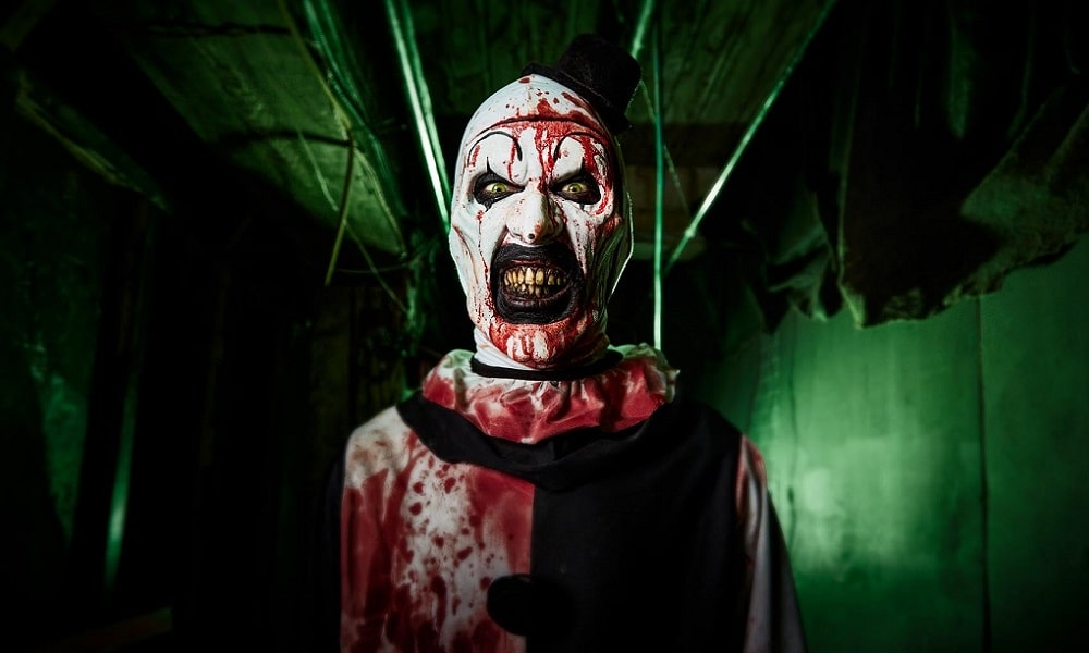 Art the Clown is Bloodier Than Ever in New 'Terrifier 2' Promotional Images