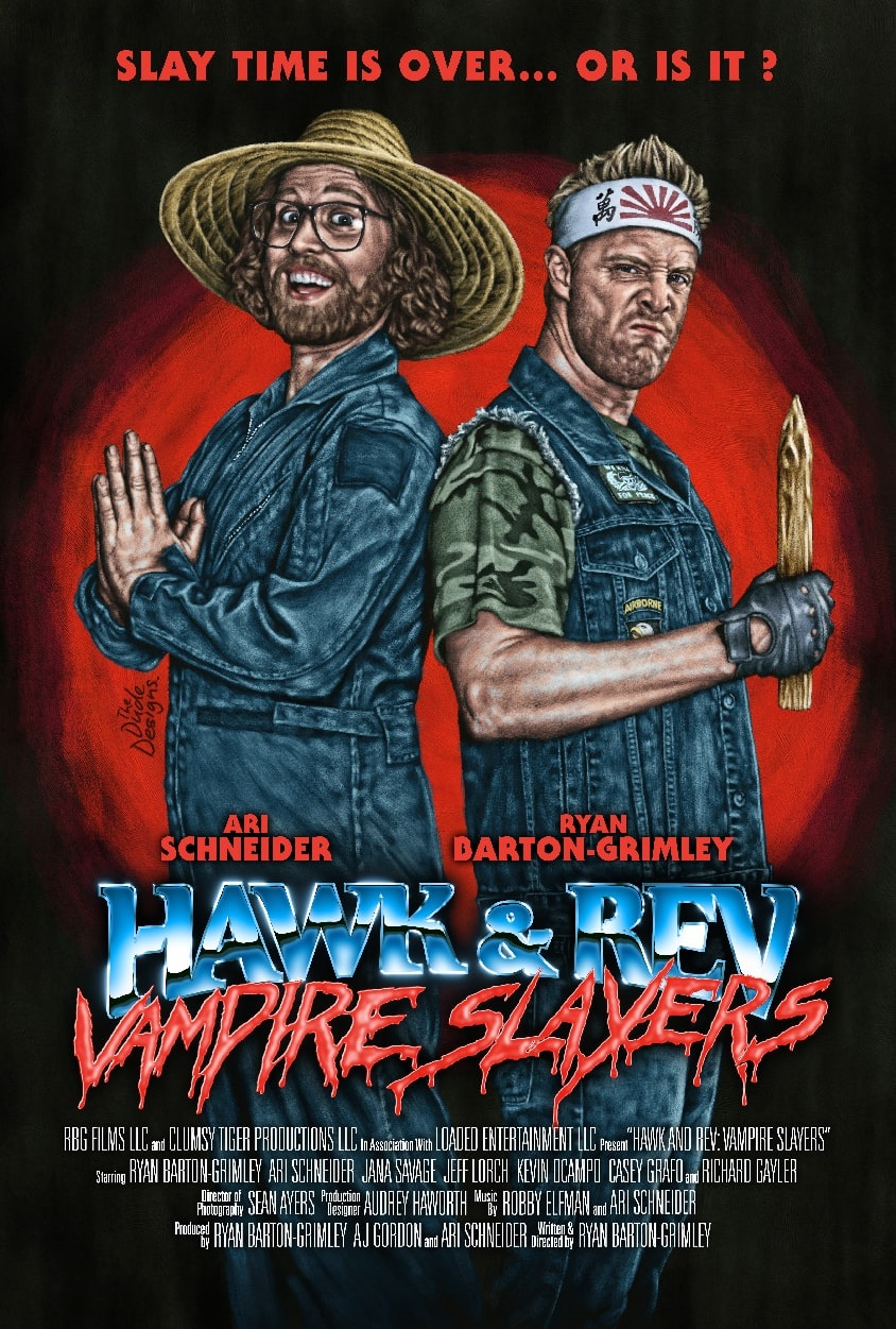 Hawk and Rev Poster Art