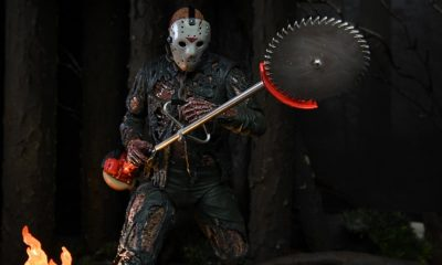 NECA Reveals Fresh Images of Their 'Friday the 13th Part VII: The New Blood' Jason Voorhees Action Figure