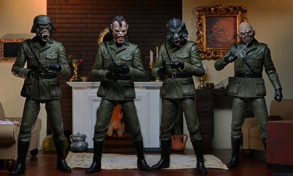 """NECA Giving Nazi Nightmare Demons from 'An American Werewolf In London' Their Own 7"""" Action Figures!"""