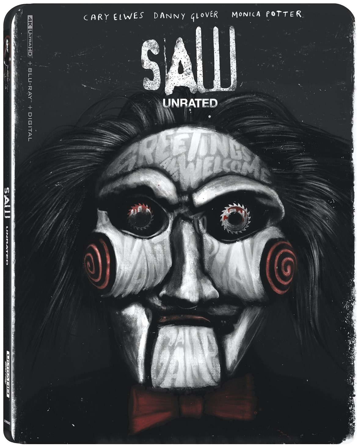 SAW Unrated 4K Blu-Ray